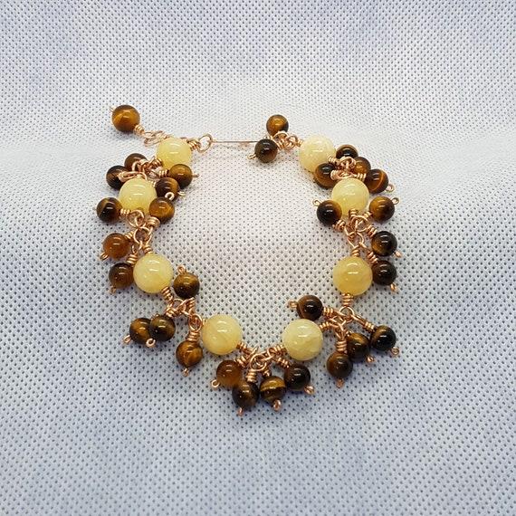 Jade Cluster Bracelet