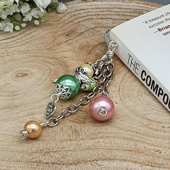 Bead Angel Bookmark