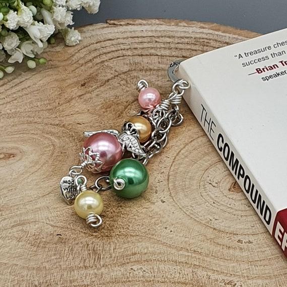Angel Beaded Bookmark