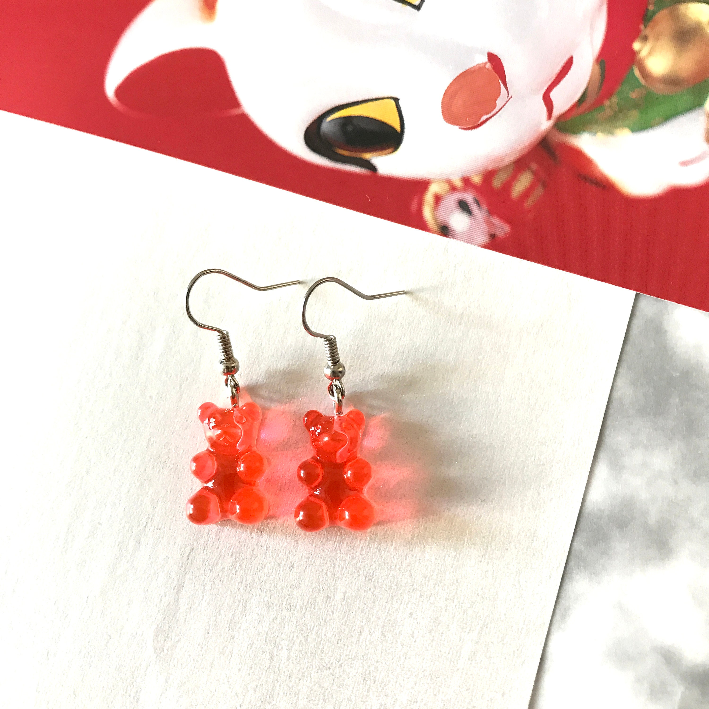 Cola Gummy Bear Earrings