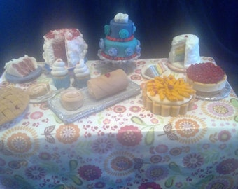 Gumpaste Mini Desserts II