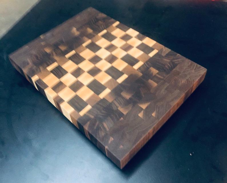 The \u201cSherwood\u201d Beautiful End-Grain Cutting Board Exocit Hardwoods!