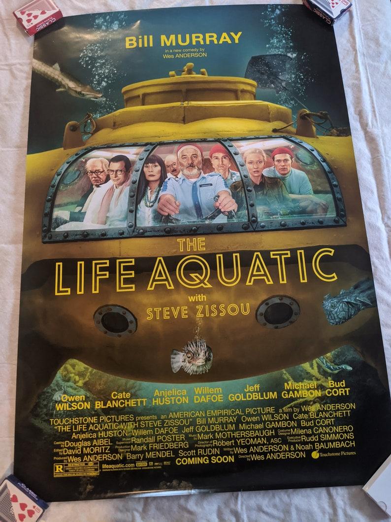Movie Poster The Life Aquatic with Steve Zissou