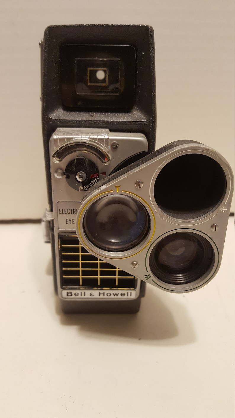 8Mm Vintage Camera vintage bell and howell perpetua electric eye 8mm movie camera