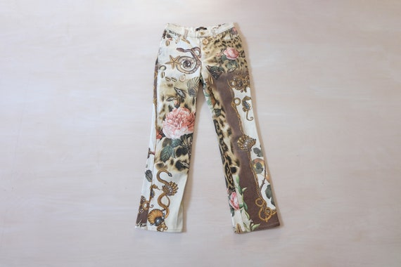 Vintage 00s Cavalli Patterned Trousers