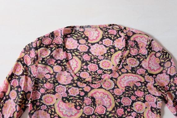 Vintage 70s Floral T-shirt - image 3