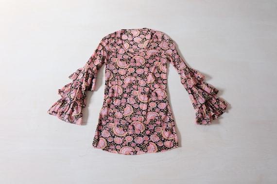 Vintage 70s Floral T-shirt - image 1