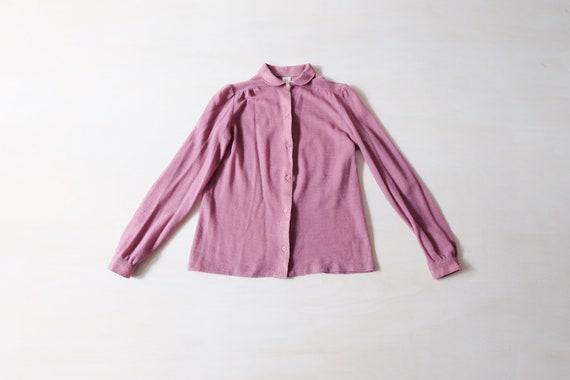 Vintage 60s Purple Blouse