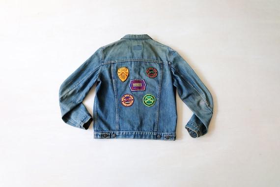 Vintage 70s 'Levi's' Denim Jacket with Patched