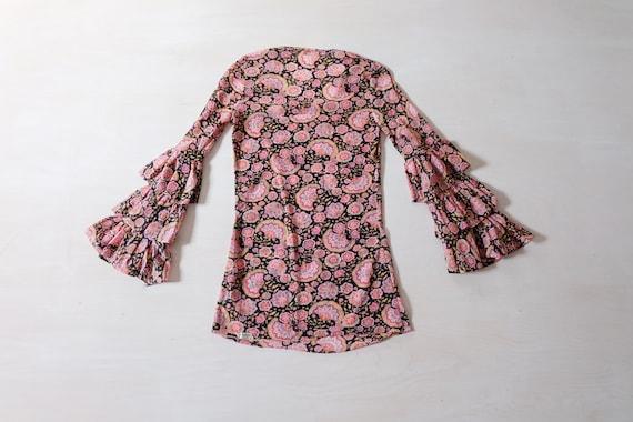 Vintage 70s Floral T-shirt - image 4
