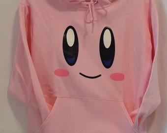 Kirby Face Hoodie