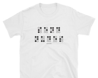 3bcbc160a Send Nudes Braille Joke T-Shirt | Offensive Humor Graphic Tee | Funny Dank  Meme Gifts for Him & Her