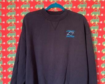 9f2e0b9b6 Vintage 90s North Carolina Panthers Sweatshirt size XL