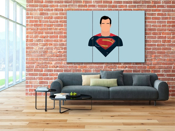 "20/""x32/""Justice League Comics Poster HD Canvas Print 20/""x32/"" Home Decor Wall Art"