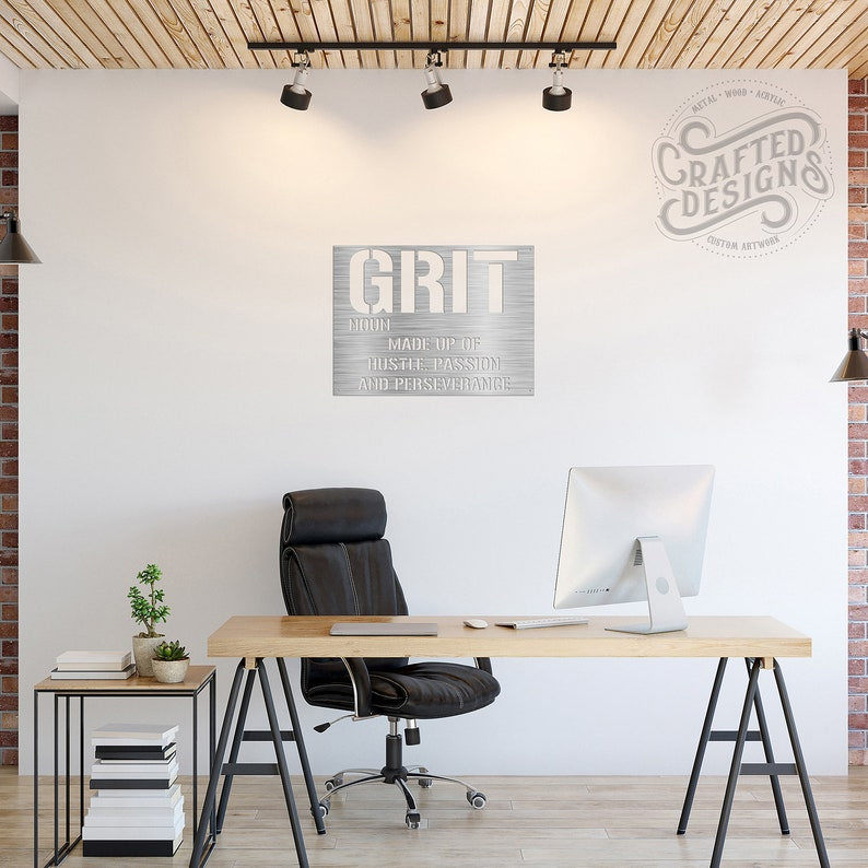 Stupendous Grit Made Up Of Hustle Passion And Perseverance Interior Design Ideas Oxytryabchikinfo