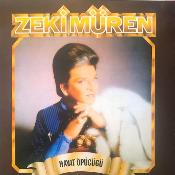 1984 Zeki Müren Hayat Öpücüğü Vinyl LP Record / Turkish   Etsy