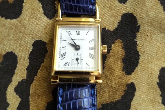 HAMILTON women's wristwatch. Vintage.