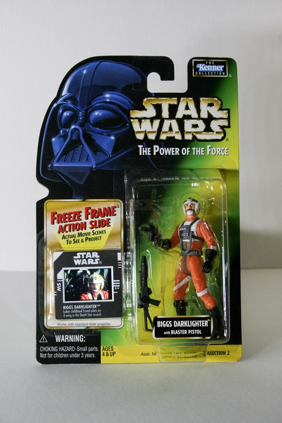 Star Wars OPENED Carded Figures LEIA R2-D2 FREEZE FRAME Kenner Toy Bundle POTF