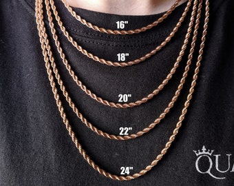 Stainless Steel Black Round Box Chain 2mm-5mm Men Women Fashion Jewelry High Qua