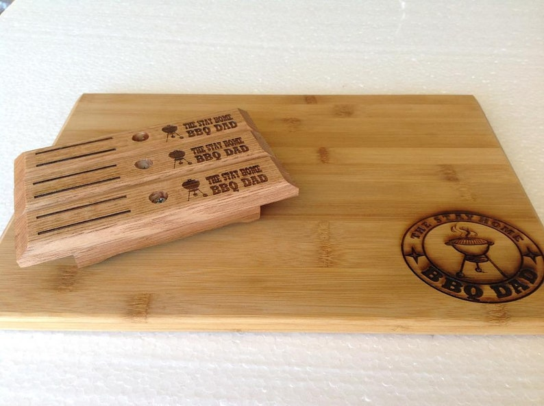 3 X Customized Handles For Weber Barbecues Tas Oak