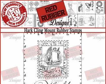 Hark Cling Mount Rubber Stamps