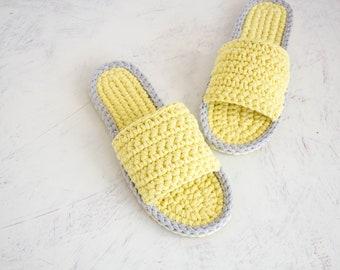 c0ad4da0f77f6 Flat wedding shoes best friend gift Crochet shoes | Etsy