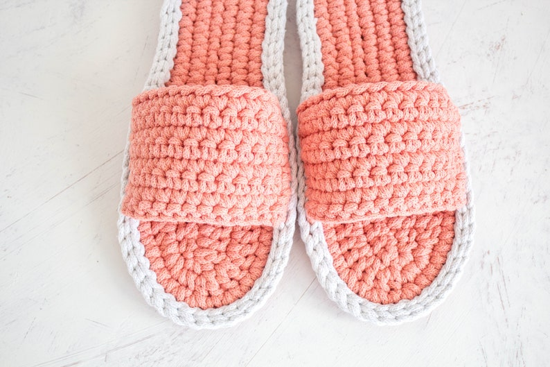 8fe8c61e50b05 Flat wedding shoes - best friend gift - Crochet shoes - Bridesmaid gift -  Knitted womens slippers - home decor
