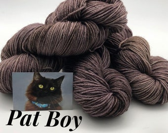 Cat Adoption 225 Meters 7525 Superwash MerinoNylon Yodi DK Meow M\u00e9lange Herd Of Cats Kitty Lover Denver Dumb Friends League