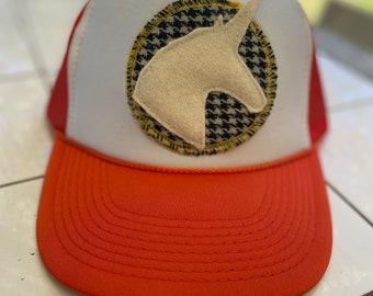 Unicorn Trucker Hat Snap Back Mesh