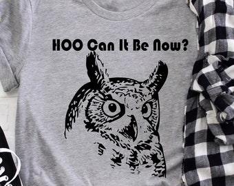 a4fd69f99 HOO Can It Be Now? Unisex Short Sleeve Tee