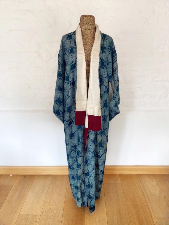 Shibori on Ice Kimono