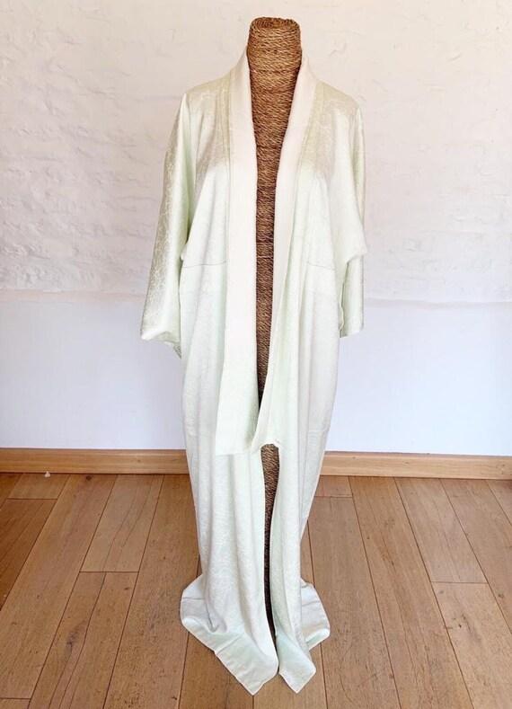 Fractured Lime Kimono