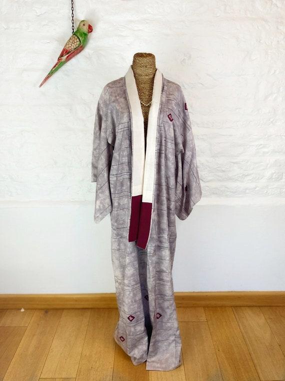 Psychedelic Grape Kimono