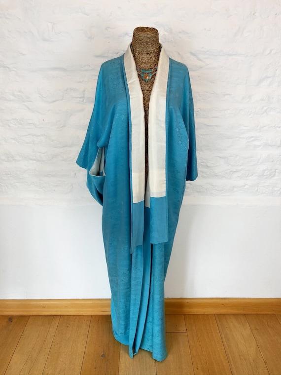 Sinatra's Blue Baby Kimono