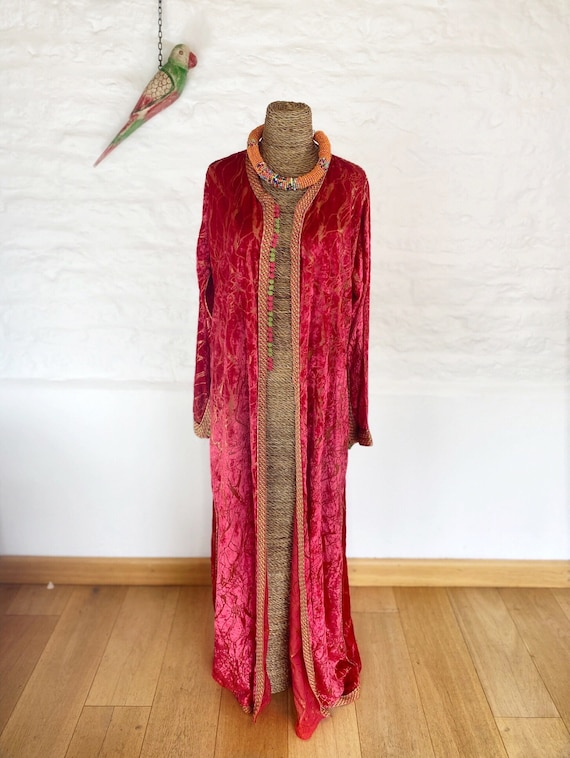 Fractured Cherry Pie Kaftan