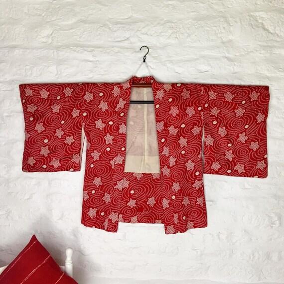 Shibori Shimmer Kimono