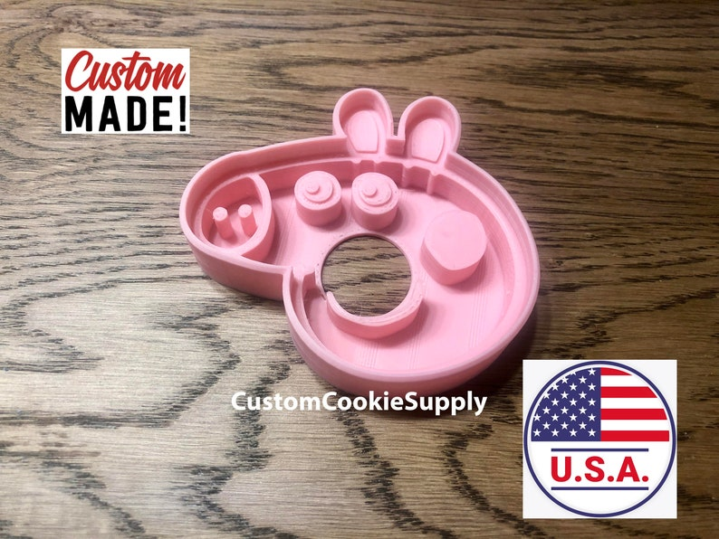 Peppa Pig Cookie Cutter  Fondant  Peppa the Pig  Peppa Pig  peppapig  Clay  Play-Doh  Kid/'s Party  Birthday