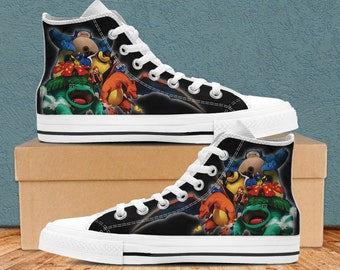 best service 8195a 28432 Pokemon Shoes, Pokemon Custom High Tops Shoes For Men And Women, Pokemon  Bulbasaur, Charmander, Pokemon Accessories, Poke monsters shoes