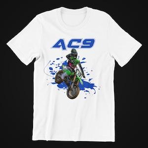 Dirt Bike Christmas Tee Shirt Motocross Xmas Tee Supercross Camiseta