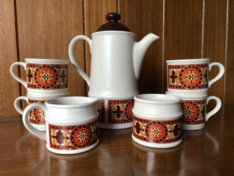 Vintage Sadler England Midcentury Modern Tea Set  Celtic image 0