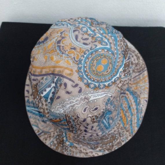Vintage Paisley Reversible Bucket Hat/Bucket Hat … - image 3