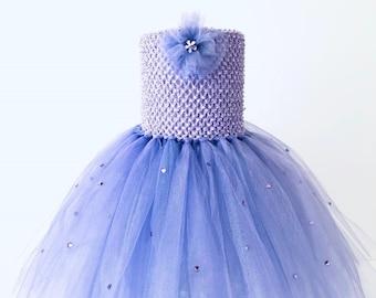 25f7f71e689 Items similar to Flower girl dress Deep Purple tutu dress