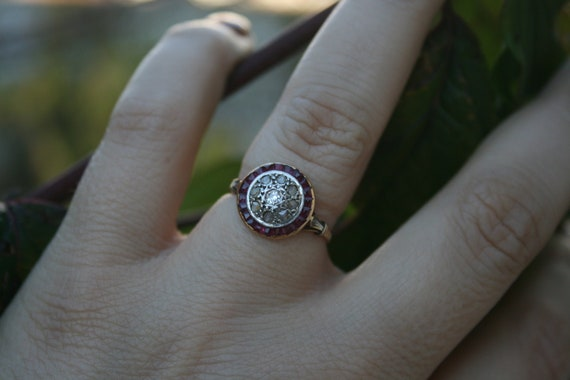 Ring Art Deco Diamonds Art Deco Engagement Ring