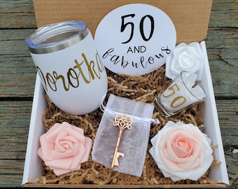 50th Birthday Gift Etsy
