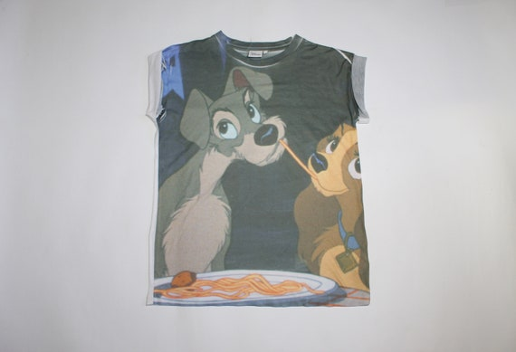 Lady and the Tramp shirt Ladies shirt size 8