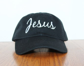 7b66190fdc1 JESUS Hat  Cap mens cap womens mens gift christian cap-christian hat mom  gift dad-girls caps boys caps-boys hats girl hats inspirational hat