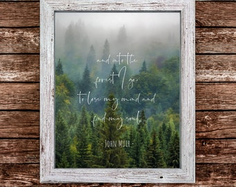 into the forest i go quote