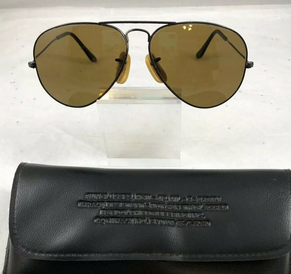 Vintage Ray Ban Bausch & Lomb Aviator Sunglasses I