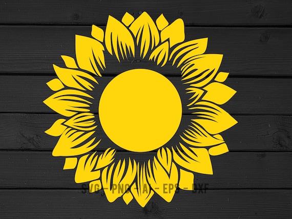 Download Sunflower svg png sunflower clipart Sunflower cut file | Etsy