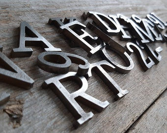 metal letters 2 inch